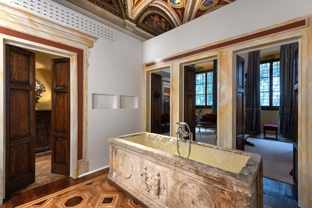 Best hotel bathrooms: Il Salviatino in Florence