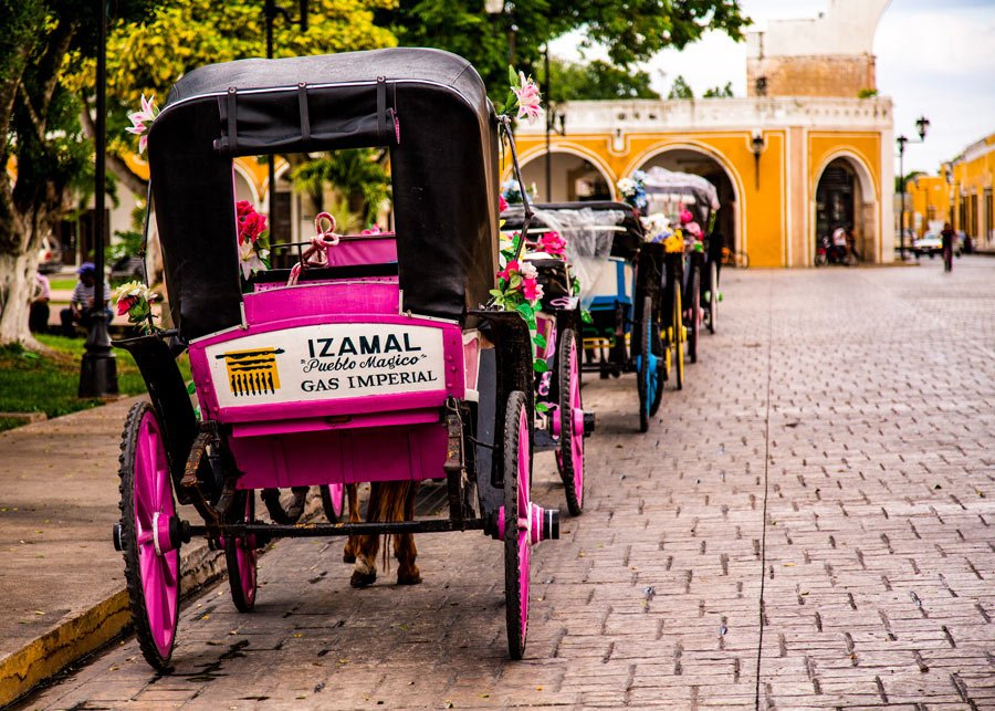 Wandering the yellow city of Izamal is one of the best cultural things to do in Mexico