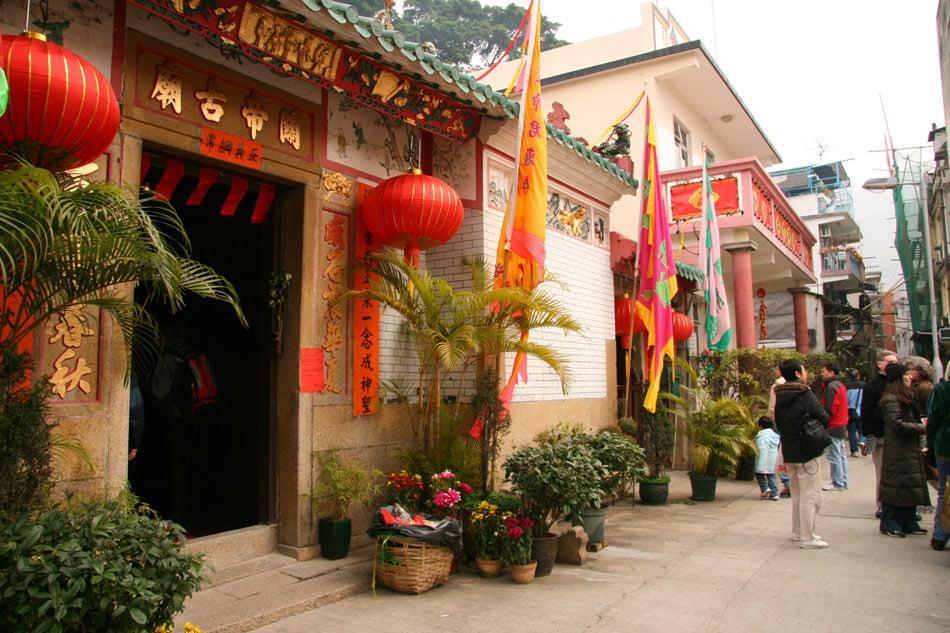 Kwan Tai Temple, Hong Kong