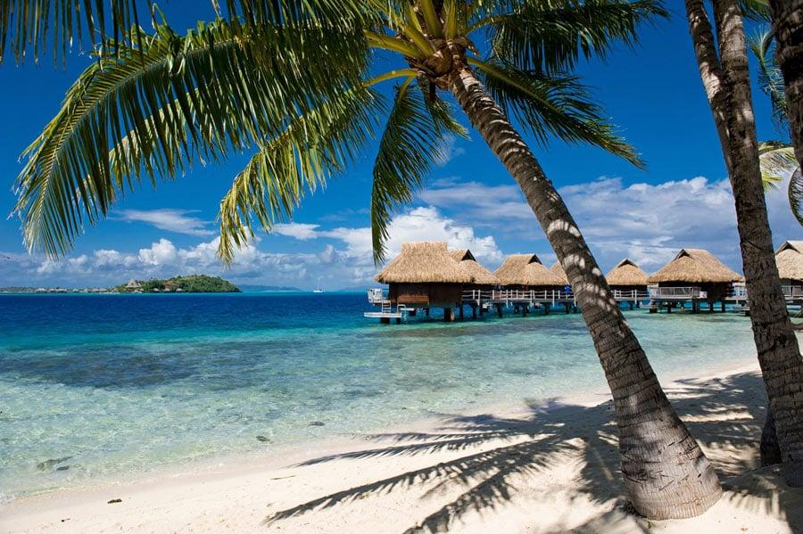 Maitai Polynesia Bora Bora has bungalows over the water in Bora Bora that won't break the bank