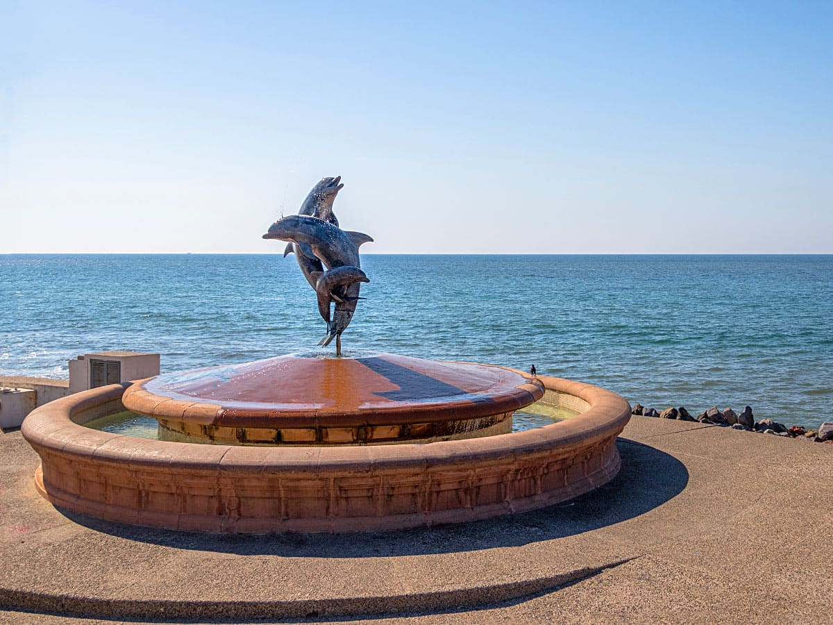 Touring The Puerto Vallarta Malecon Sculptures And Art Sand In My Suitcase