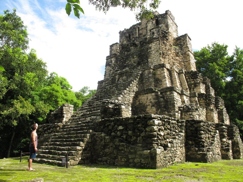 Muyil is one of the oldest of the Mayan Riviera ruins and cities