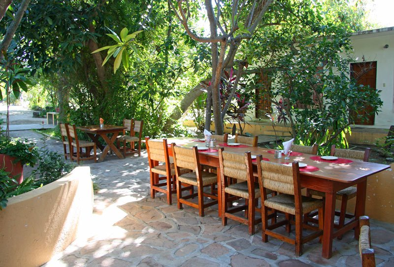 Palomar Restaurant is the place to stop for lunch in Santiago after a day trip hiking in Los Cabos