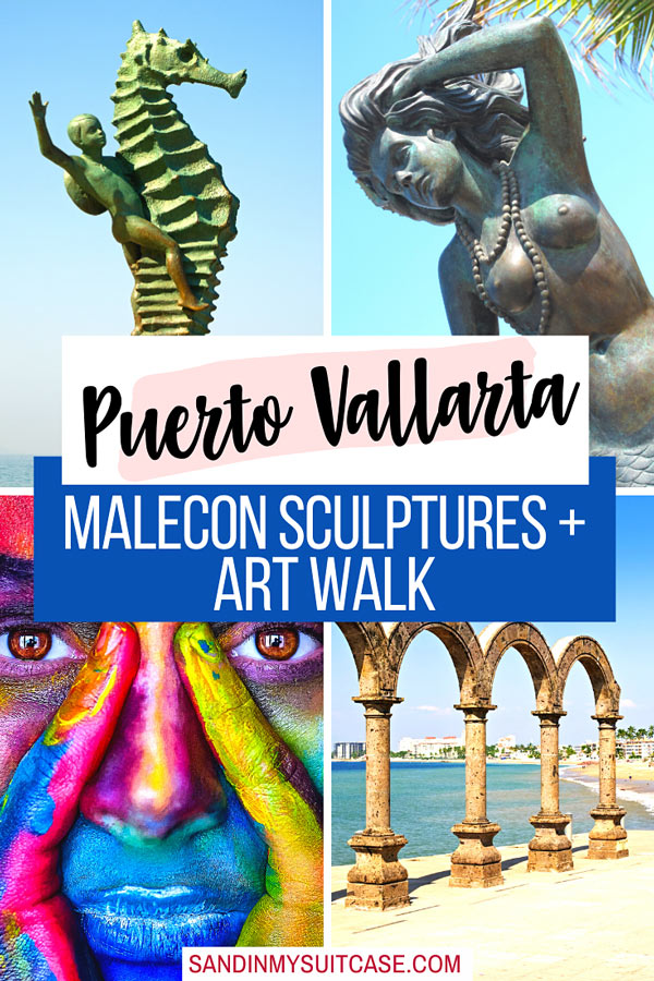 Guide to Puerto Vallarta Malecon sculptures and art