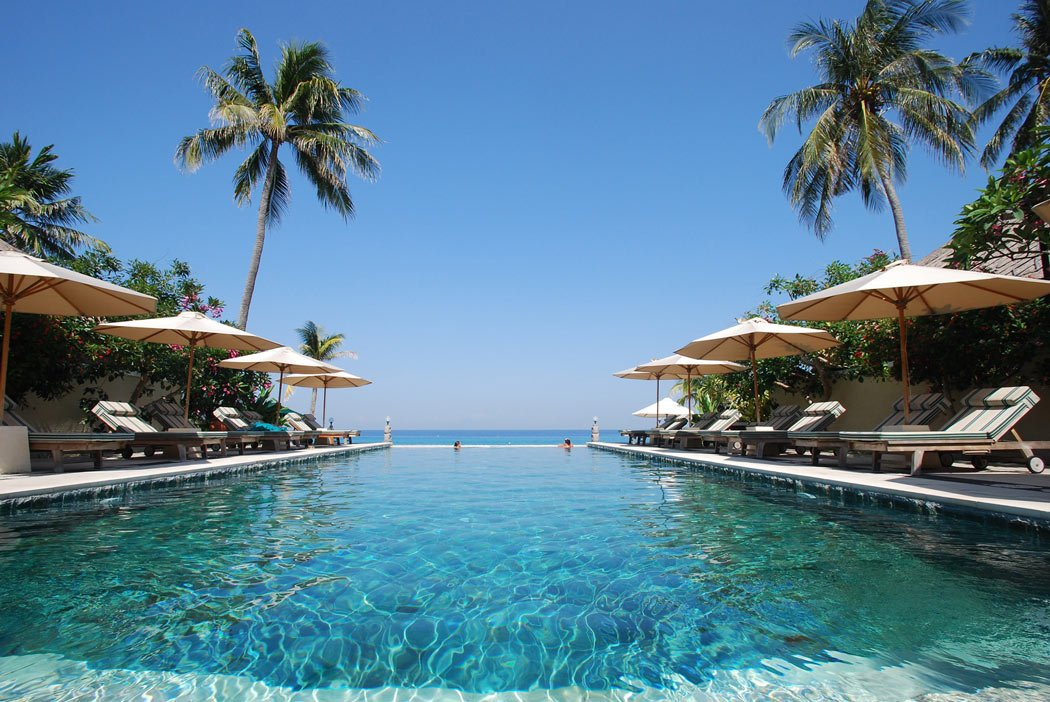 Puri Mas is one of the nicest boutique hotels in Lombok