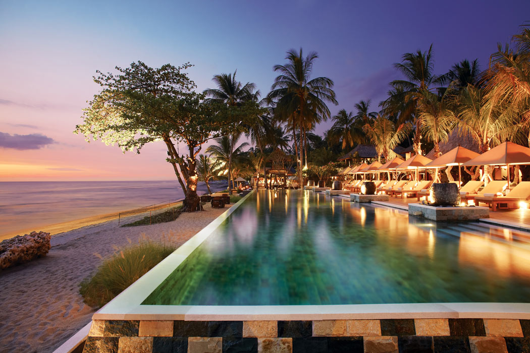 One of the best boutique hotels in Lombok is Qunci Villas