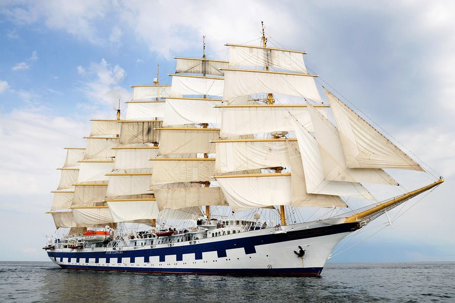 To experience what it's like to actually sail on a cruise ship, check out Star Clippers' unique tall ships
