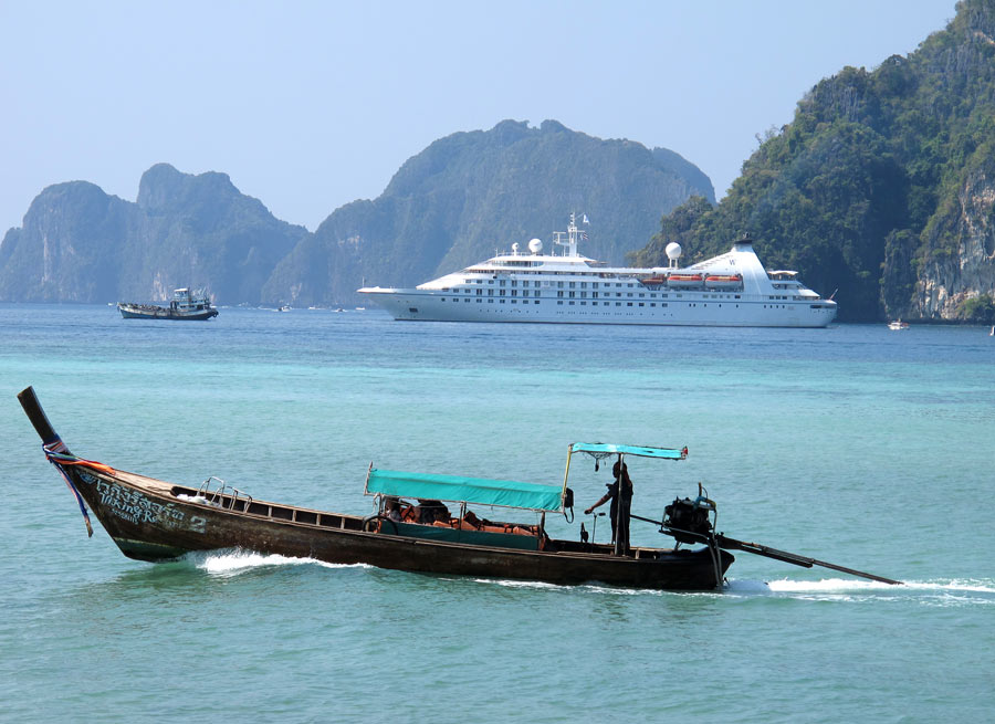 Windstar Cruises in Thailand