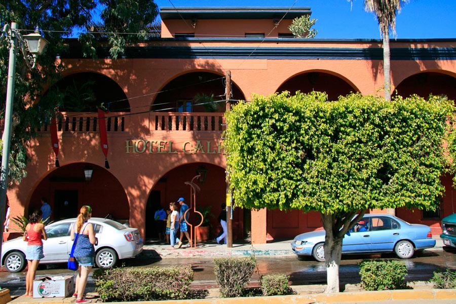 Hotel California in Todos Santos