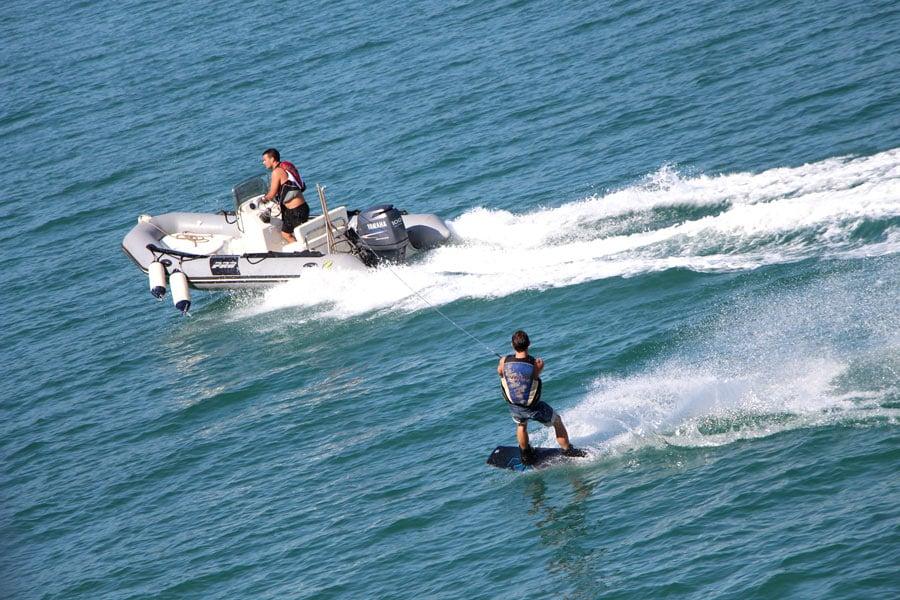 Wakeboarding on Windstar Cruises