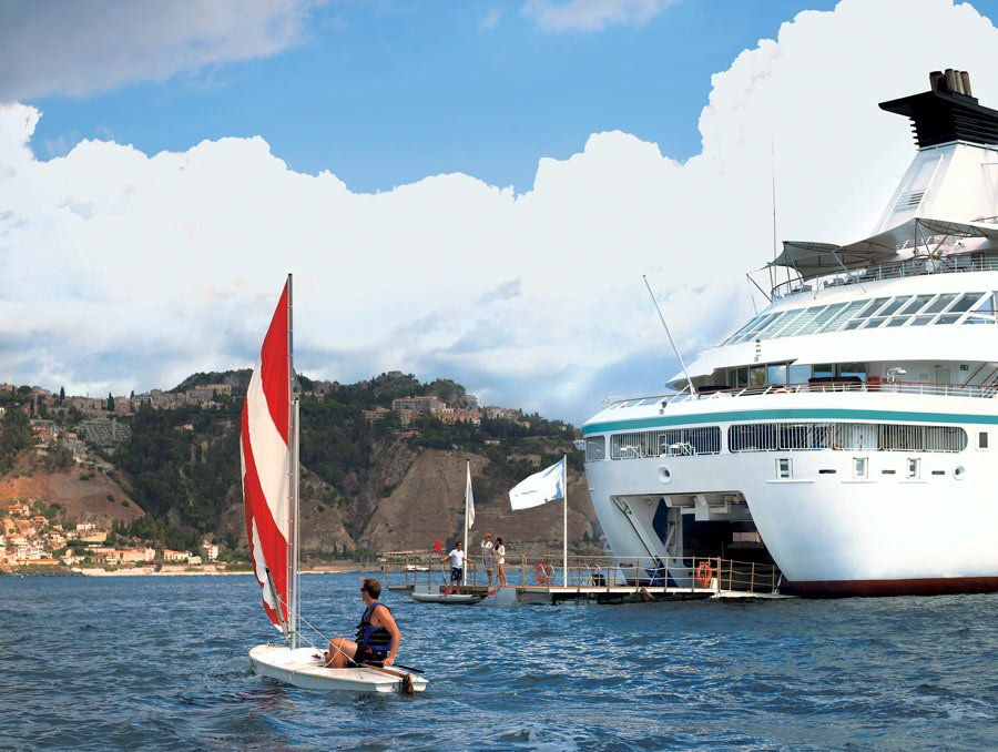 Watersports on Windstar Cruises ships