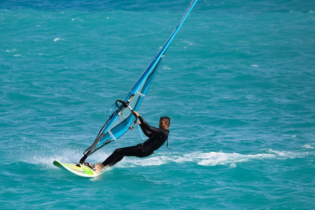 Day trip to Los Barriles: Windsurfing in Los Barriles
