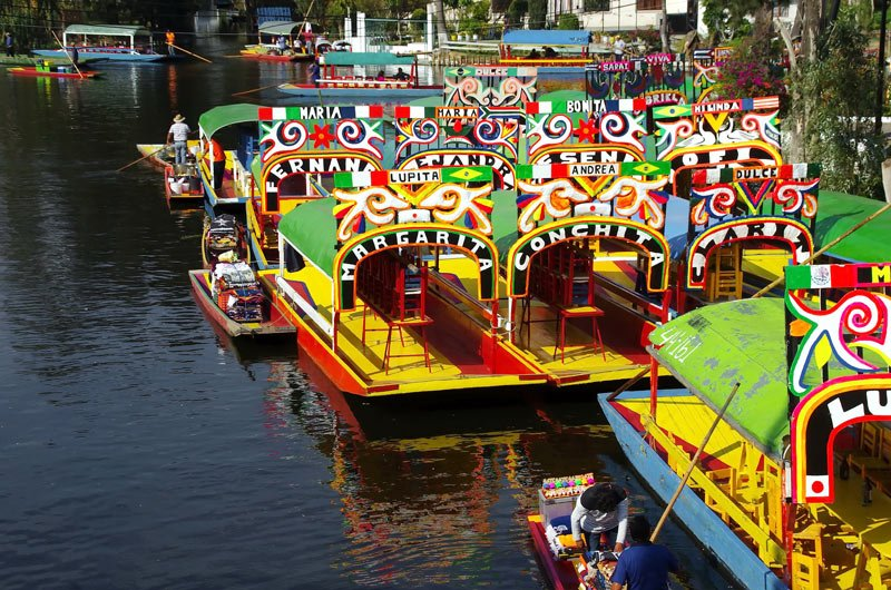 Visiting Xochimilco is one of the top things to do in Mexico City