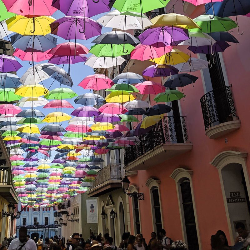 Colorful Old San Juan is one of the best cruise ports.