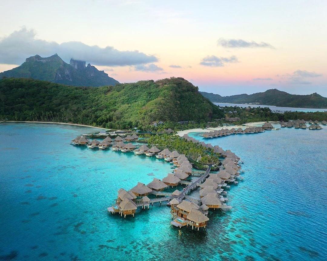 Conrad Bora Bora Nui overwater bungalows