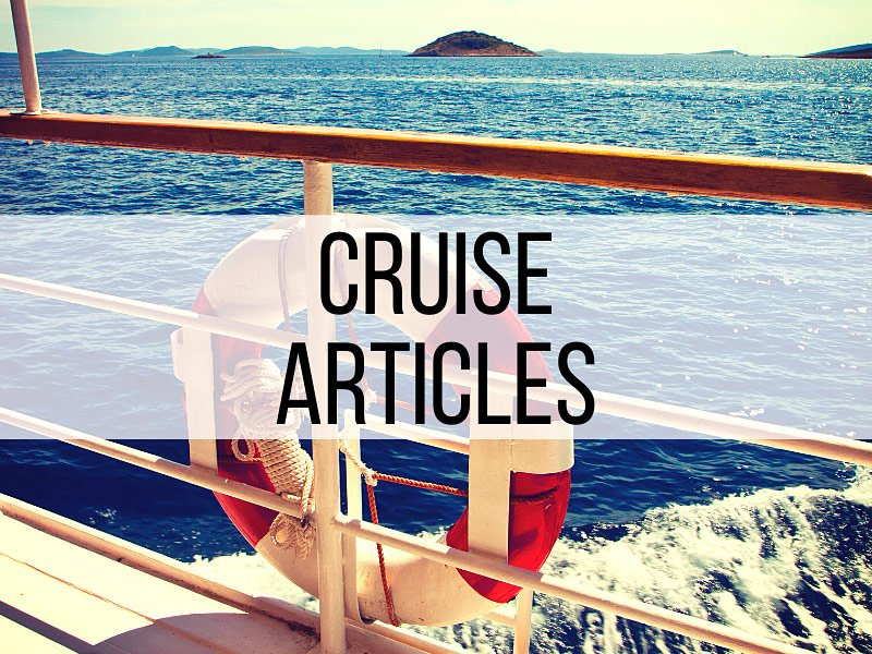 Cruise Travel Articles
