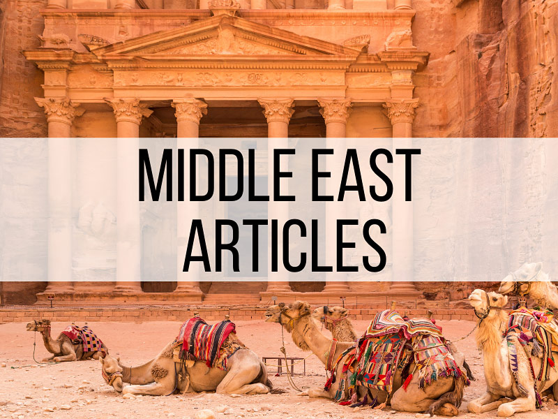 Middle East Travel Articles