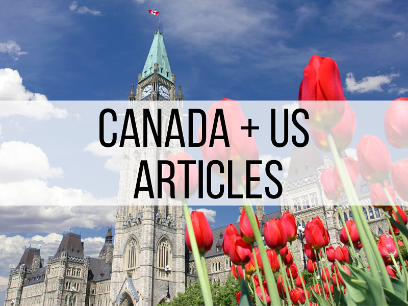 US and Canada Travel Articles