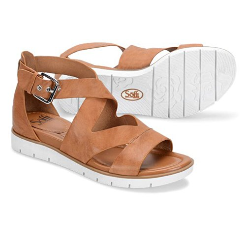 Some of the best travel sandals for women are these Sofft Miraballe sandals