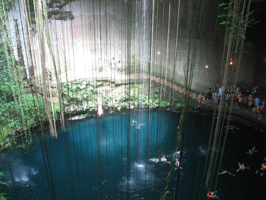 Swimming in a cenote is one of the best things to do in Mexico