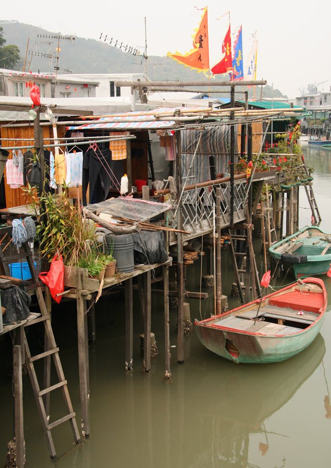 Hiking to Tai O stilt village is popular on Lantau Island