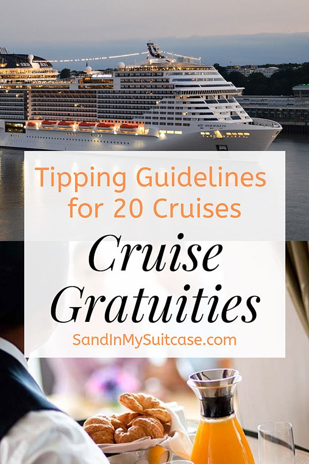 Gratuities on a cruise
