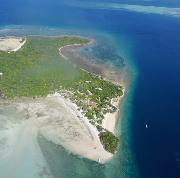 Quilalea Island is a private island resort