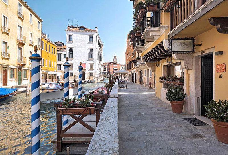 American Hotel Dinesen, Venice, Italy
