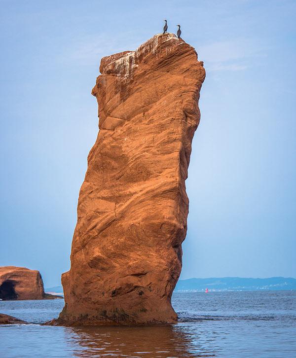 Bay of Fundy Rock Pillar
