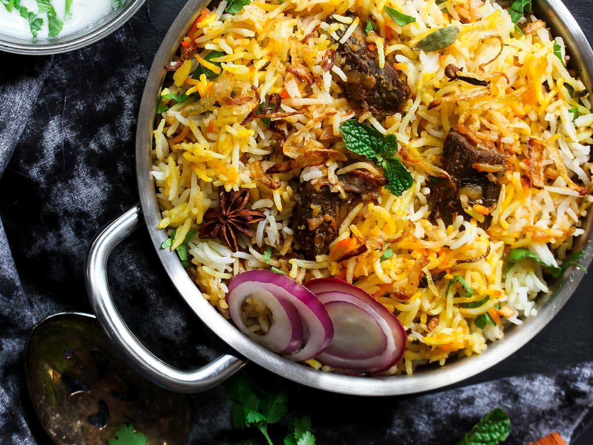 Biryani is a classic Indian dish