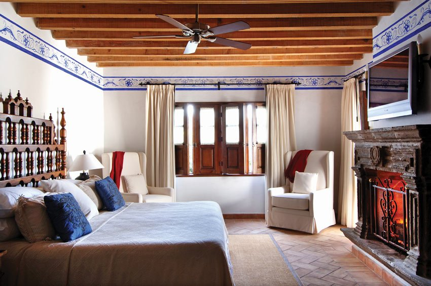 Every room is different at Casa de Sierra Nevada