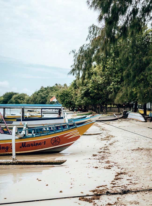 Boat on Lombok
