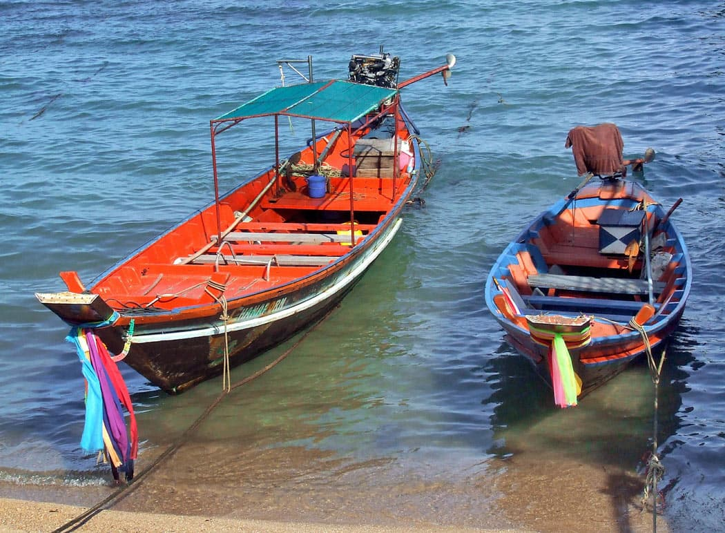 There are many different types of boats to take you snorkeling around Koh Tao on a private trip