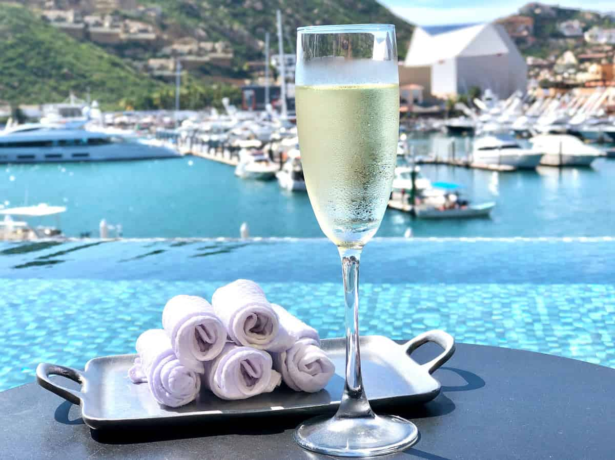 Champagne at Breathless, Cabo San Lucas