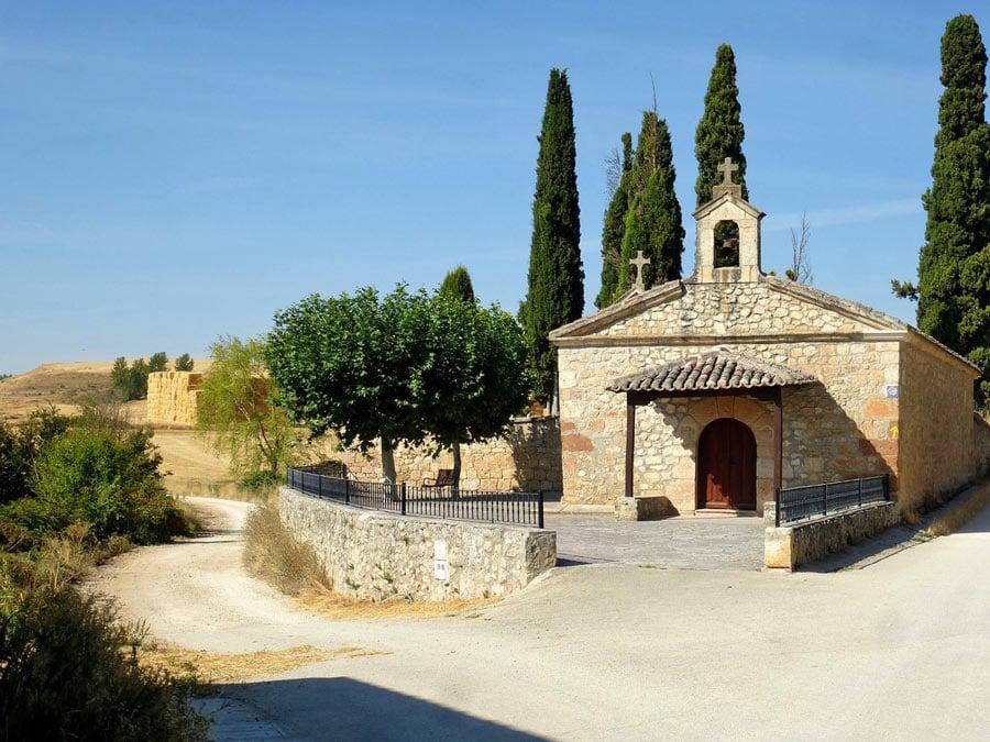A church on the Camino de Santiago