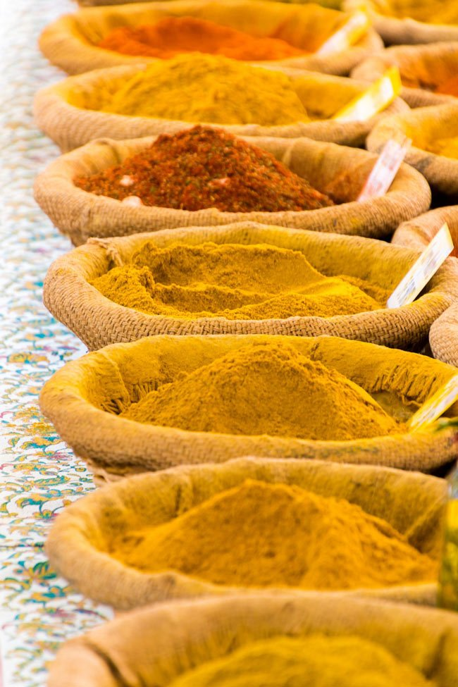 Curry spices for Indian food