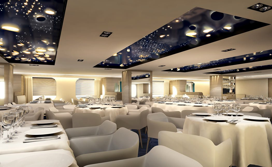 Dining is refined and elegant on Ponant