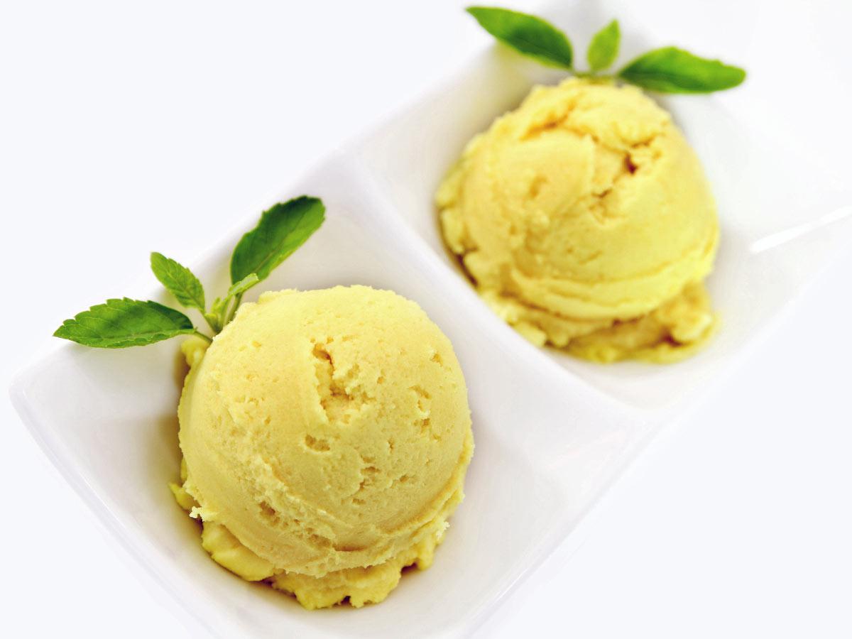 Durian ice-cream