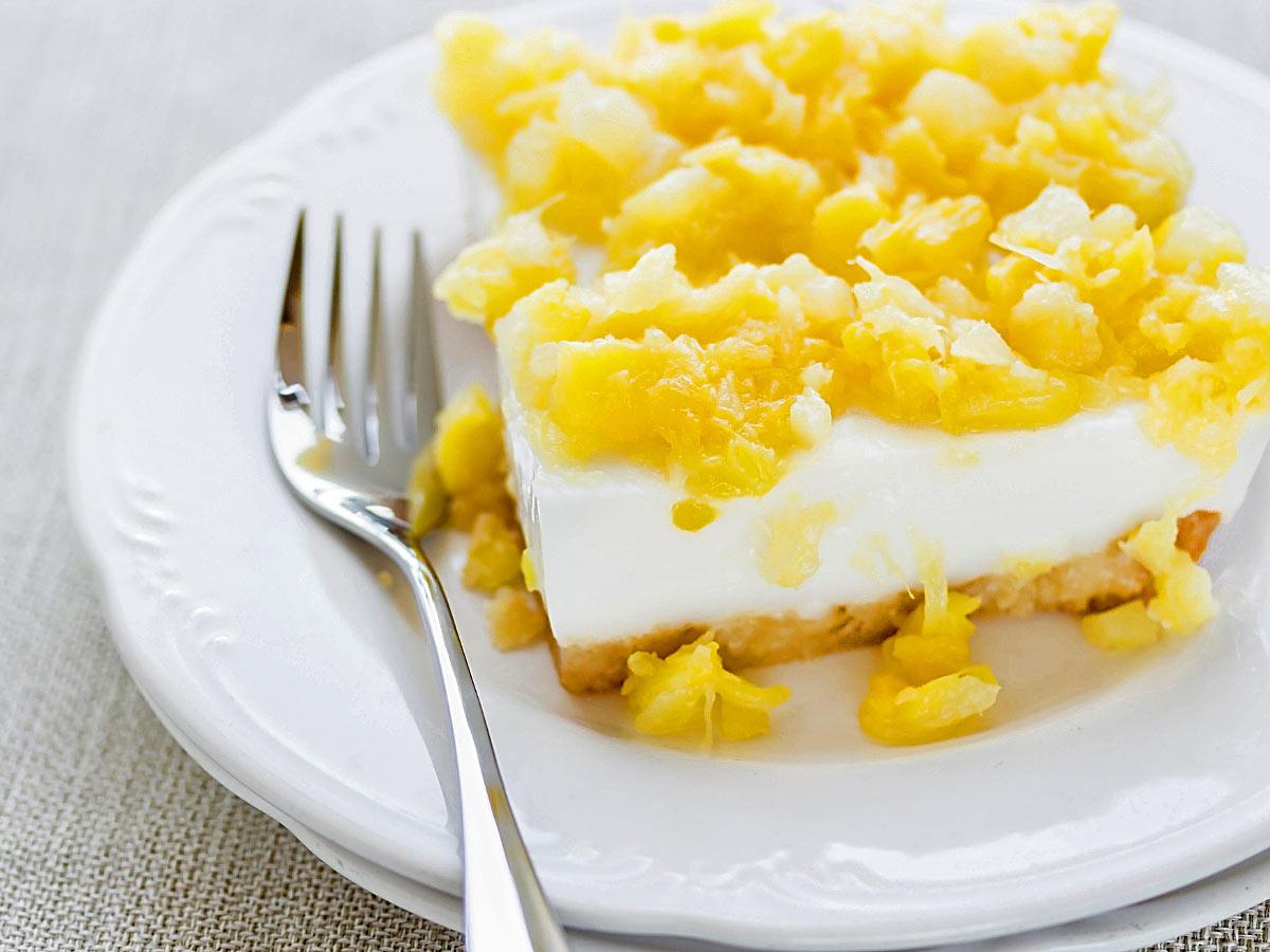 Hawaiian haupia dessert