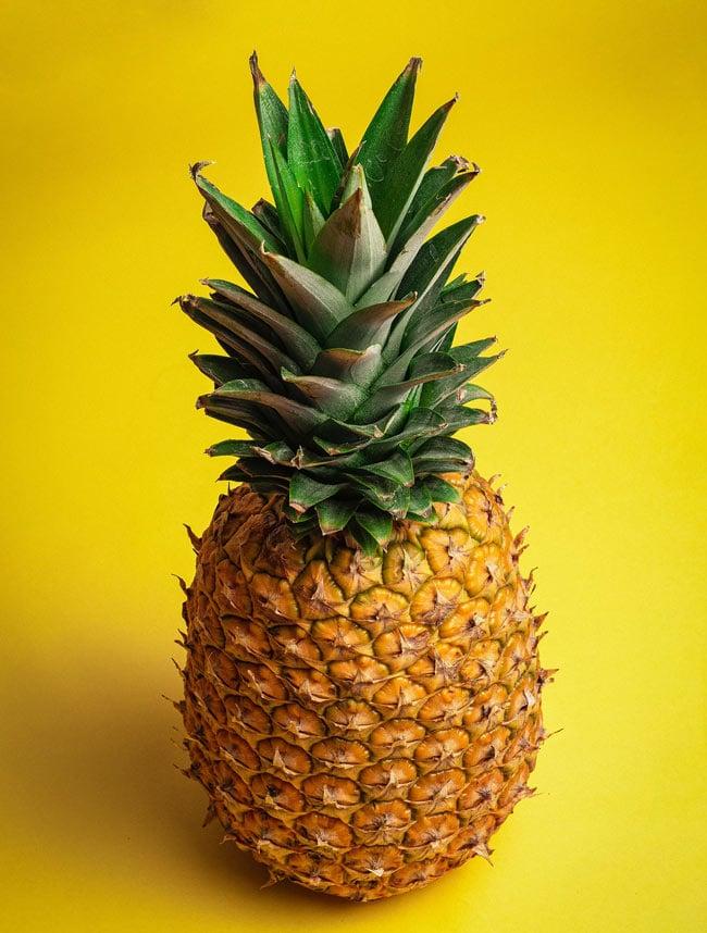 Pineapple is a popular Hawaiian fruit