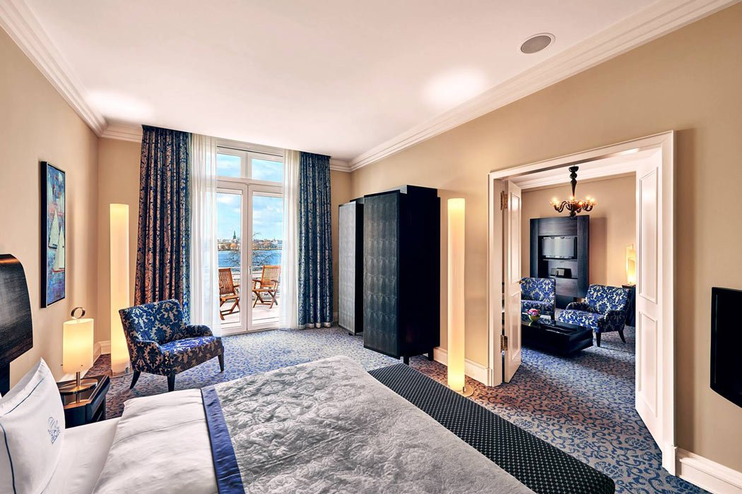 A suite at the Hotel Atlantic Kempinski