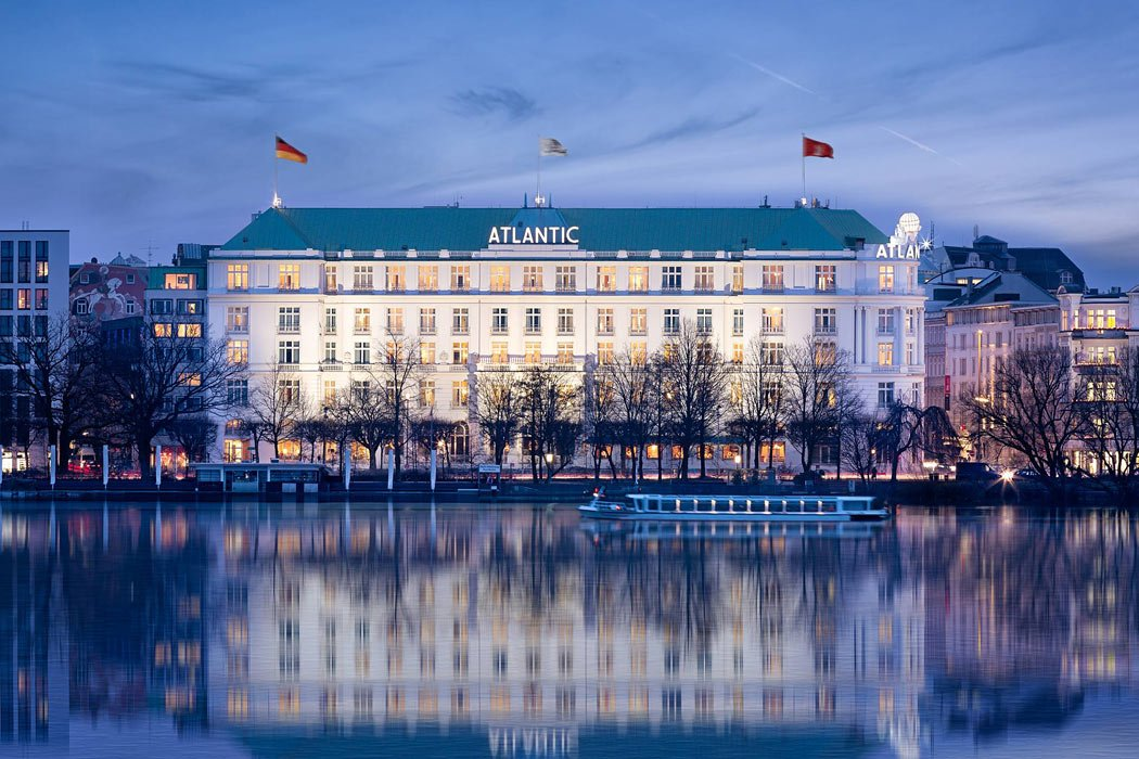 You'll want to get a room overlooking the Alster Lake at the Hotel Atlantic Kempinski, one of the most romantic hotels in Europe!