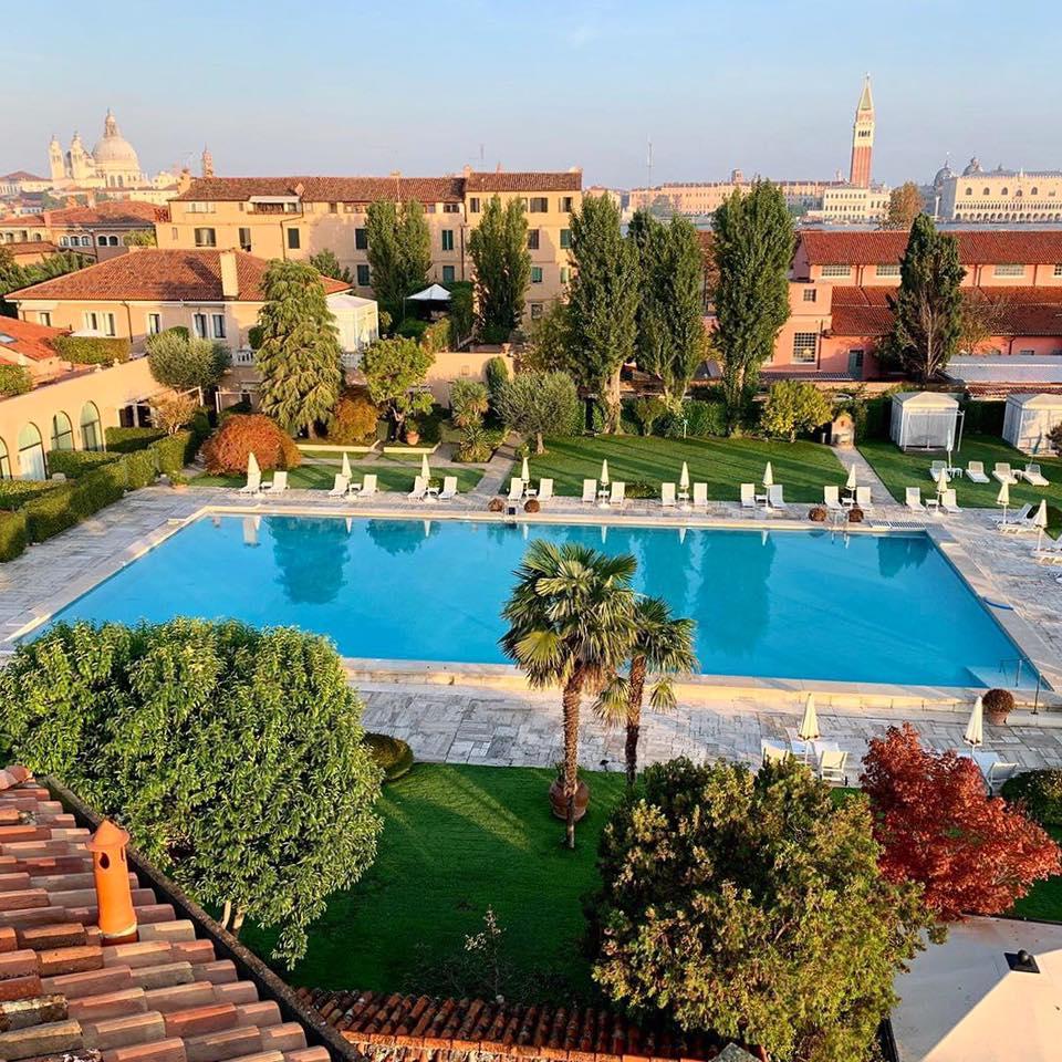 Hotel Cipriani pool