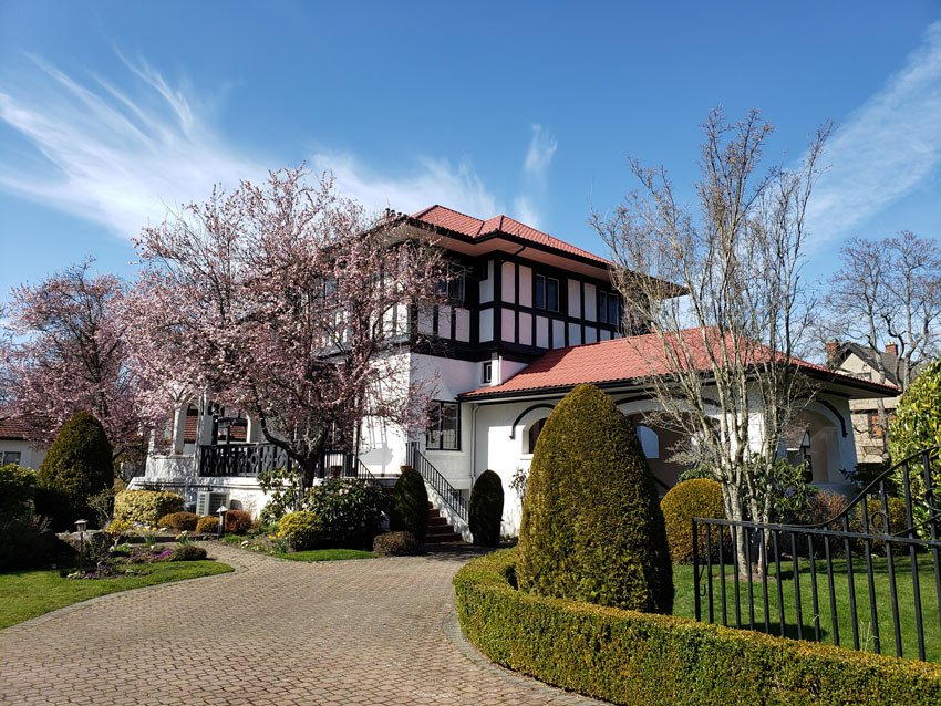 House in Rockland, Victoria, BC