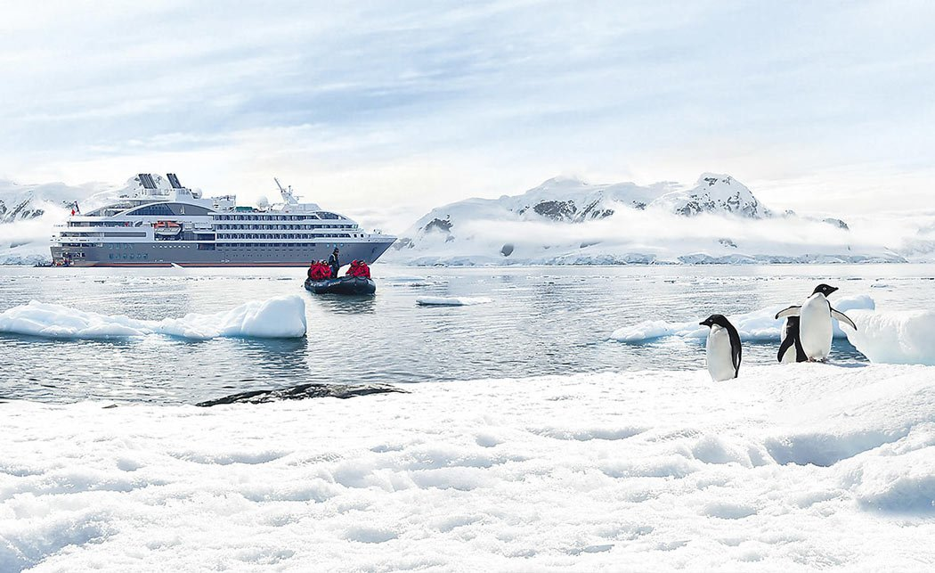 L'Austral in Antarctica