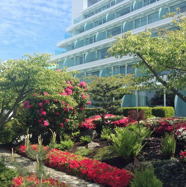 Laurel Point Inn is one of the best luxury hotels in Victoria, BC