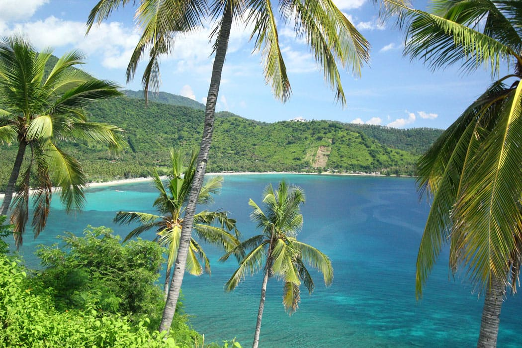 Lombok attractions include beautiful secluded beaches!