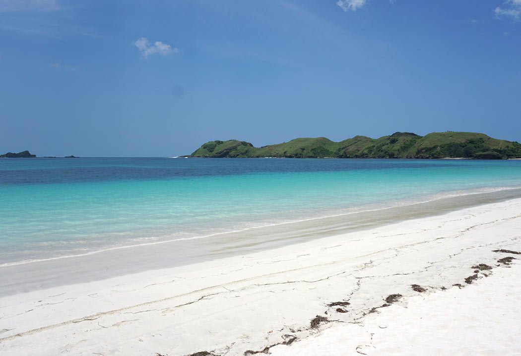 Tanjung Aan Beach is one of the best attractions in Lombok