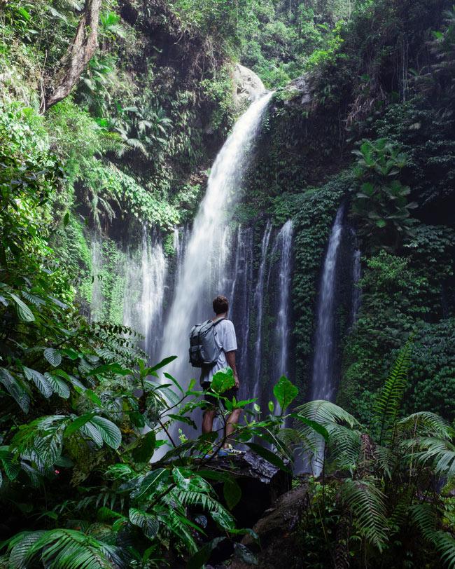 Lombok waterfalls