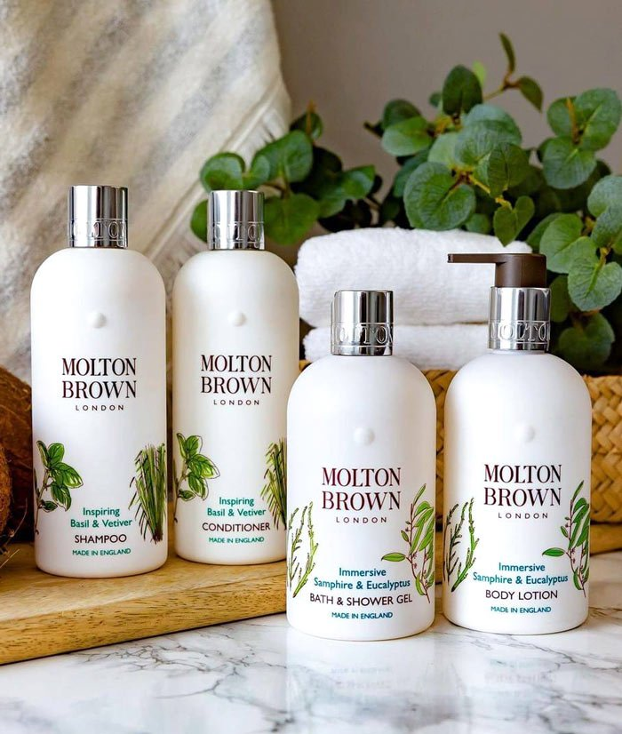 Molton Brown bath products on Seabourn